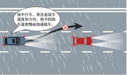 雨天行车小贴士,开车必看!