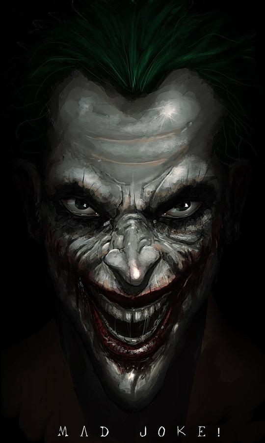 手机壁纸恐怖小丑