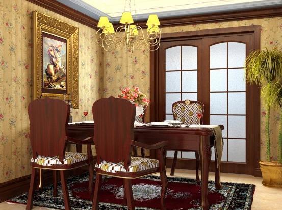 室内装修欧式古典