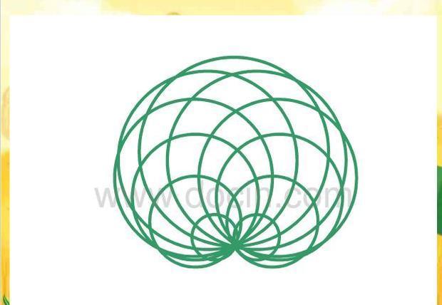 北师大版数学六年级上册《欣赏与设计》心脏线什么画要详细步骤?