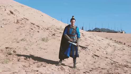 独家花絮:伍嘉成沙漠拍照