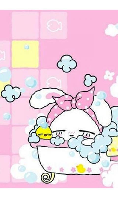 可爱卡通兔仔壁纸_360手机助手