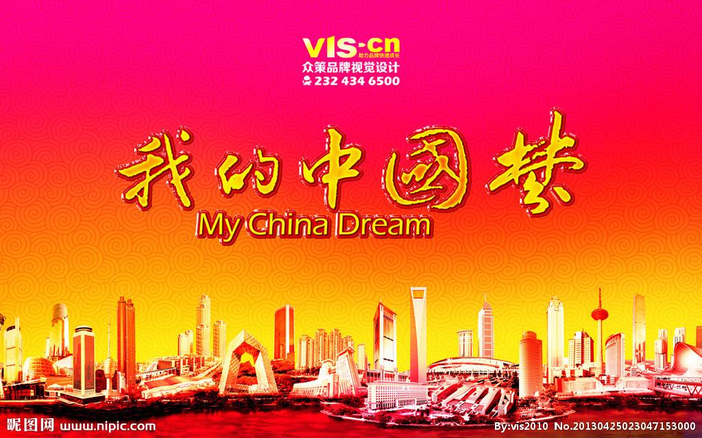 中国梦 -习近平提出的指导思想