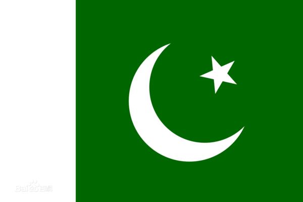 国旗绿色的国旗上面一个白月亮和白星星是哪国的?