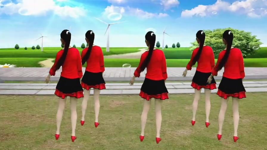 精选广场舞《百花香》魏新雨的歌曲就是那么好听,醉人心扉