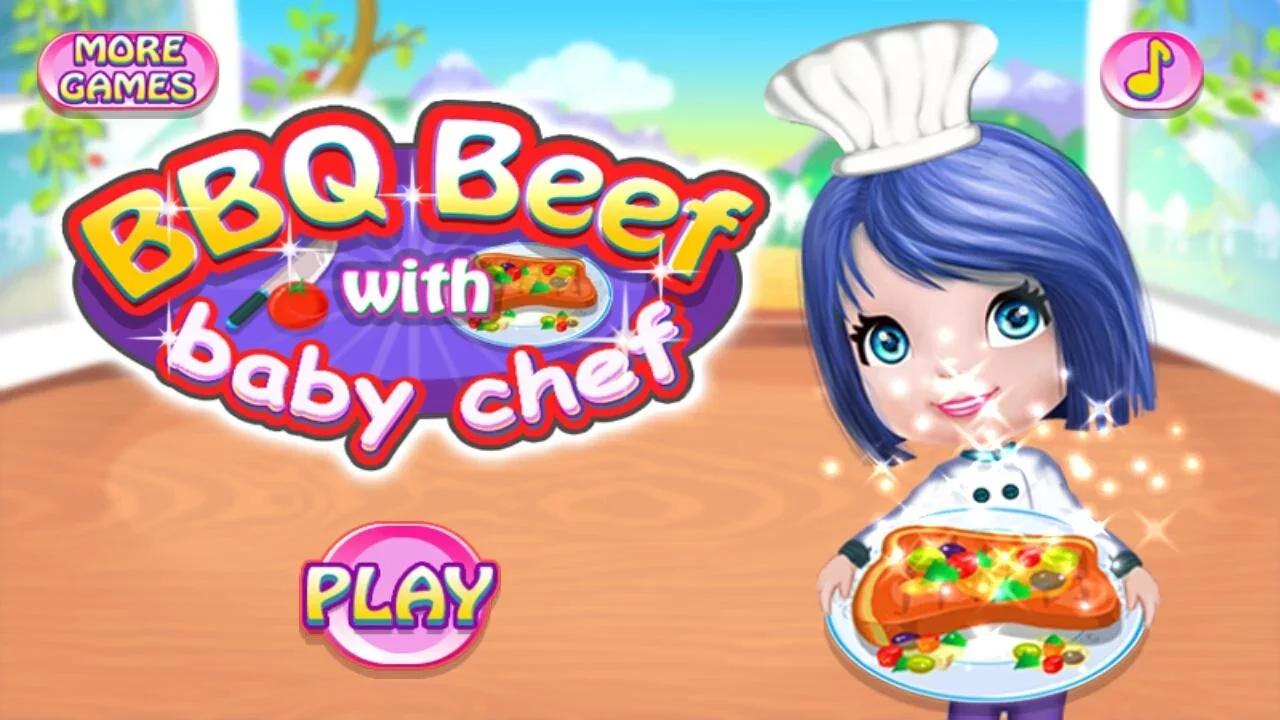 烧烤类食品的烹饪游戏