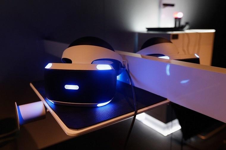 索尼Playstation VR真机照
