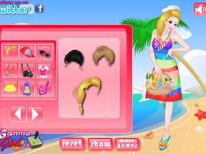 海滩比基尼美女 海滩比基尼美女小游戏