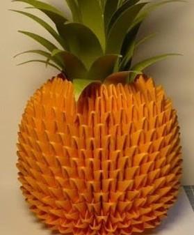 菠萝叶子折法图解