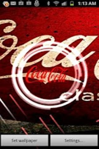 可口可乐动态壁纸