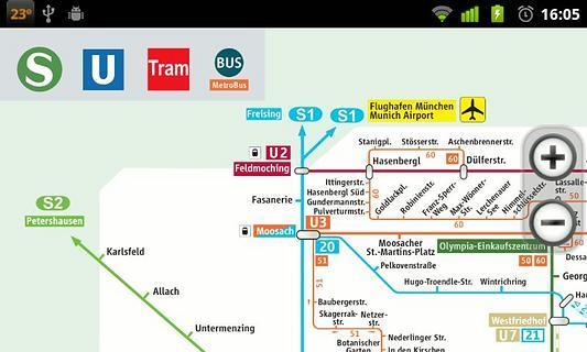 慕尼黑机场地图