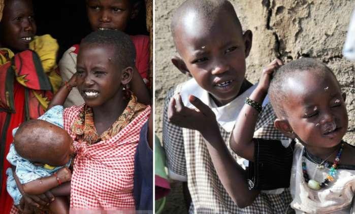 非洲部落的奇葩  习俗真让人无法接受 - 枫叶飘飘 - 欢迎诸位朋友珍惜一份美丽的相遇,珍藏