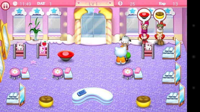 Hello Kitty美发沙龙:假日篇截图3