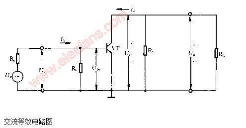 放大器交流等效电路形式
