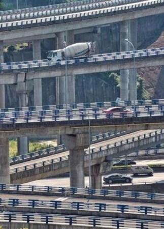 重庆最绕立交桥:难哭导航 - 一统江山 - 一统江山的博客