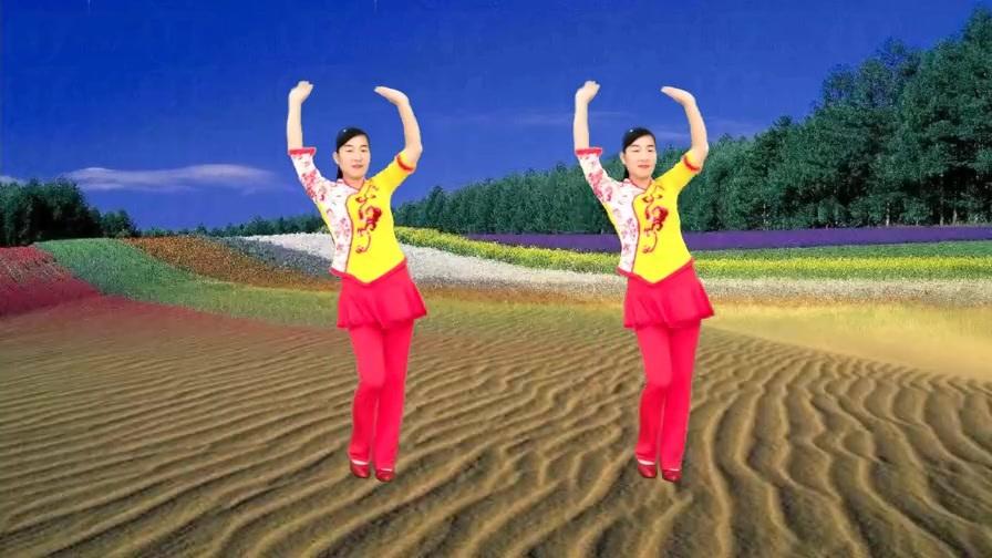 DJ健身广场舞《最亲的人》优美秧歌步,简单易学