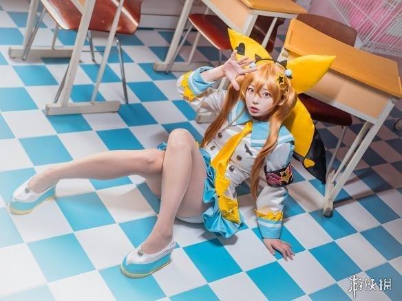 韩国天命COS《美女之子》魅魔Davi皮卡丘美女最美的画像图片