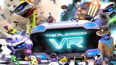 《The Playroom VR》即将上市 内含6种社交游戏