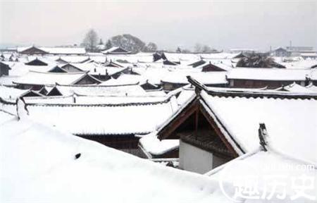 中国古代的雪有多大?康熙九年大雪连降40天 -  - 真光 的博客