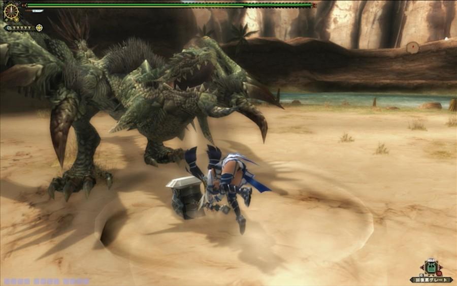 怪物猎人边境Z推出PS4版