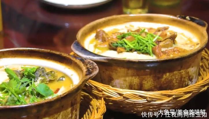 扬州必吃的重口味美食,臭豆腐炖特色,如此肥肠新生儿鸡爪手图片