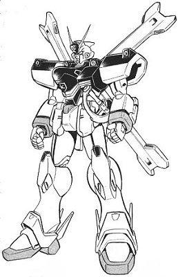 XM-X1(F-97)骷髅高达X1