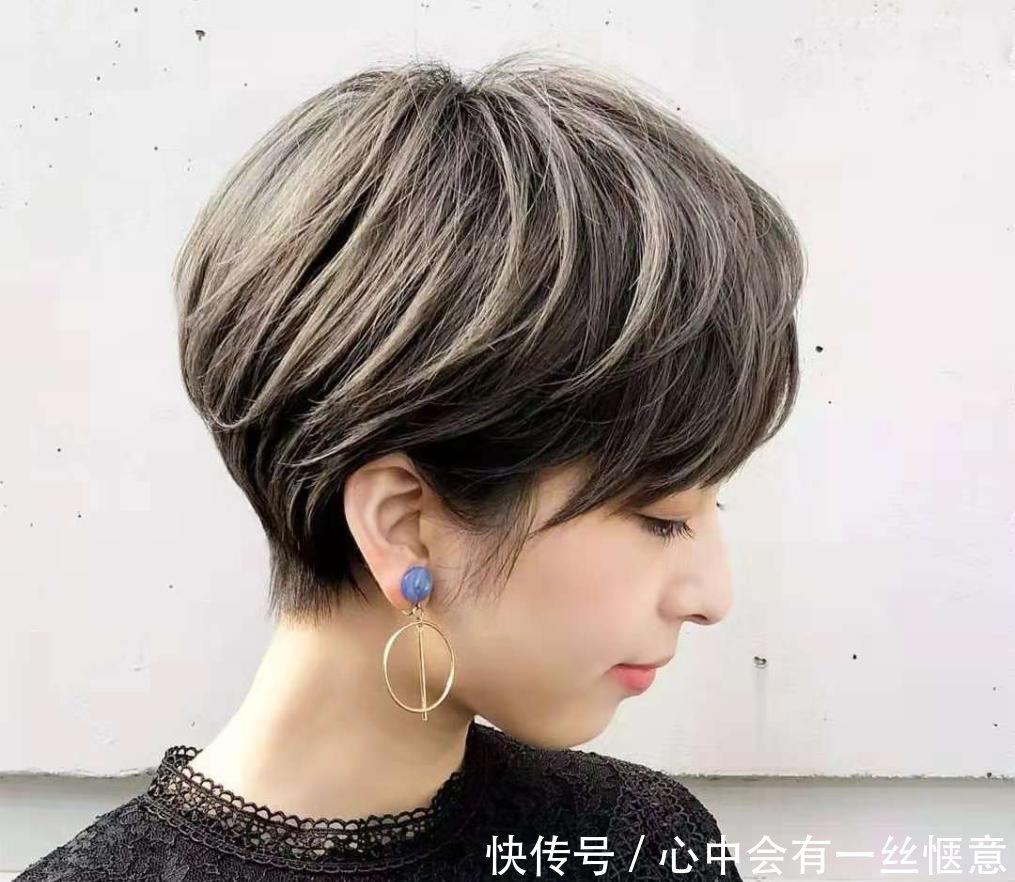 发型头发多还很炸,剪盘发长发a发型自女生丸子发型短发头图片