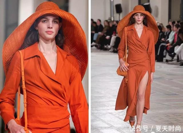 橘色是秋冬季最流行的单品,被认为最有活力的颜色