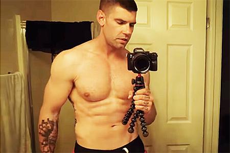 微胖男的刷脂挑战,7天完成700俯卧撑和210分视频杀三国v视频图片