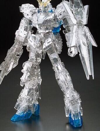 HG独角兽高达毁灭模式透明版