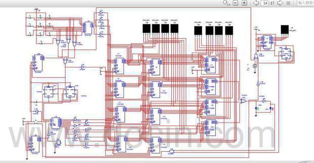 数字电路课程设计电子密码锁的这个电路图为什么用multisi高清图片