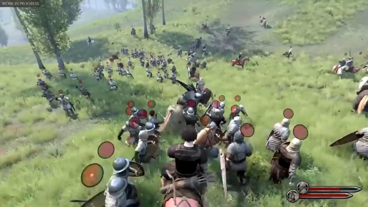 《骑马与砍杀2》实机演示