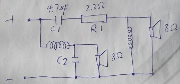 【请教一点关于音箱分频器电路里的问题】-突袭网