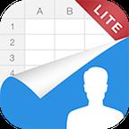 通讯录<->Excel Lite