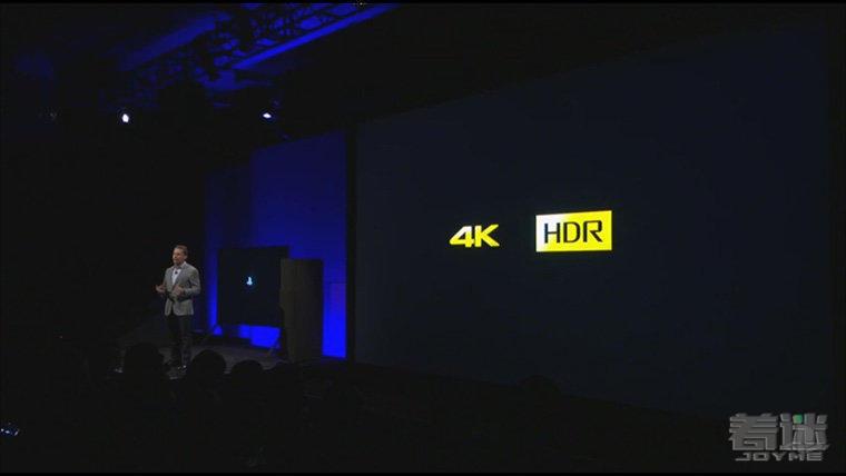 2016索尼发布会现场 正式公布PS4 PRO 配备4K分辨率