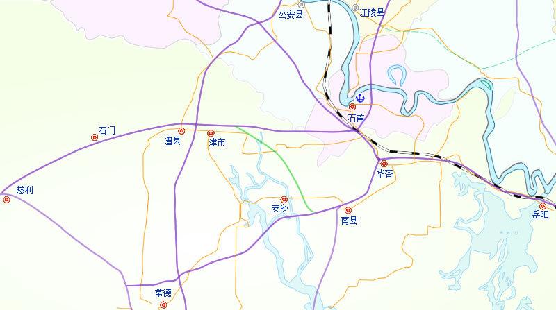 安慈高速公路示意图