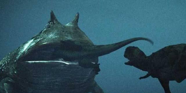 7000万年前青蛙,生活在陆地上,平时一动不动,专门捕杀恐龙