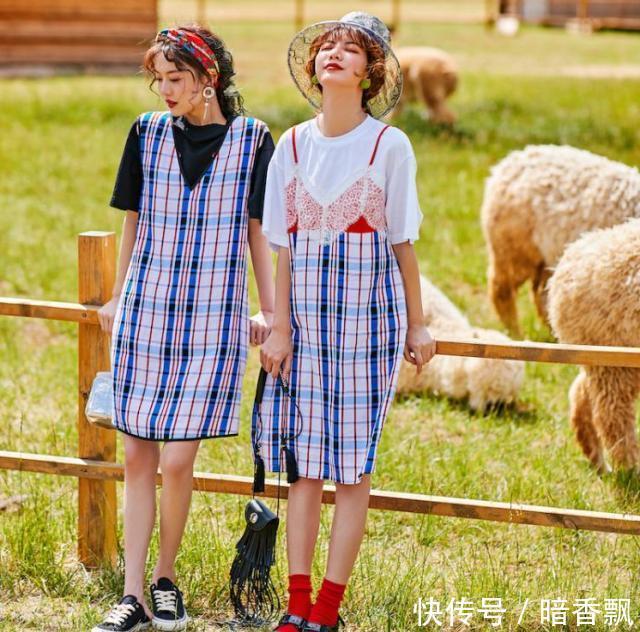 4款夏日显高显瘦穿搭,小个子女生照着穿,时尚减龄又显高