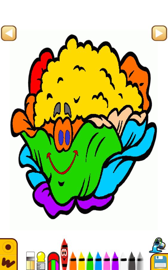 水果蔬菜线条画