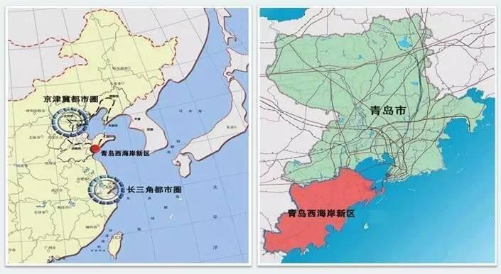 天津至青岛地图