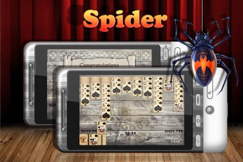 经典蜘蛛纸牌