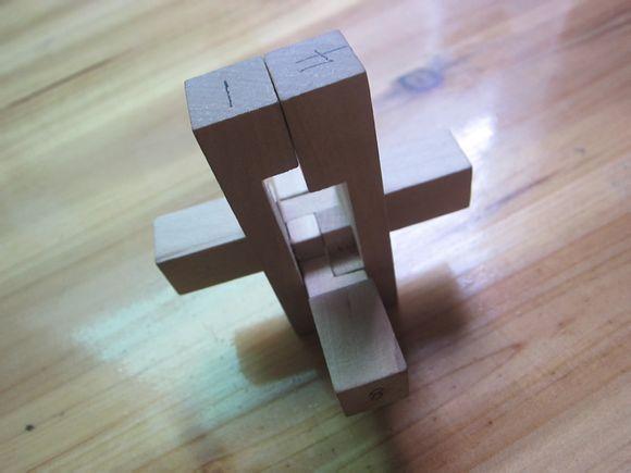 孔明锁九根安装步骤图片
