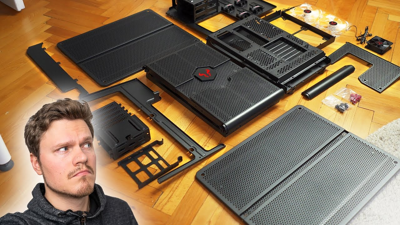 伸缩式设计!模块化电脑机箱装机体验