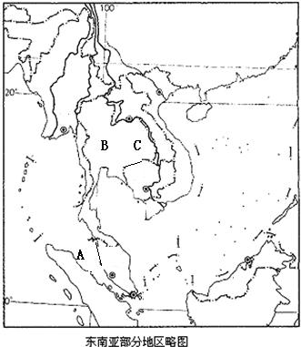 中东半岛国家图