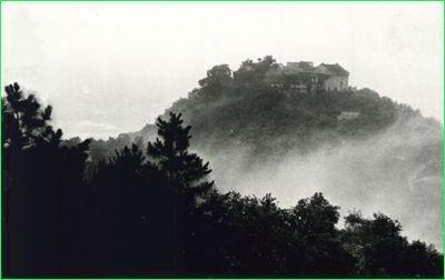 白昭山地图手绘