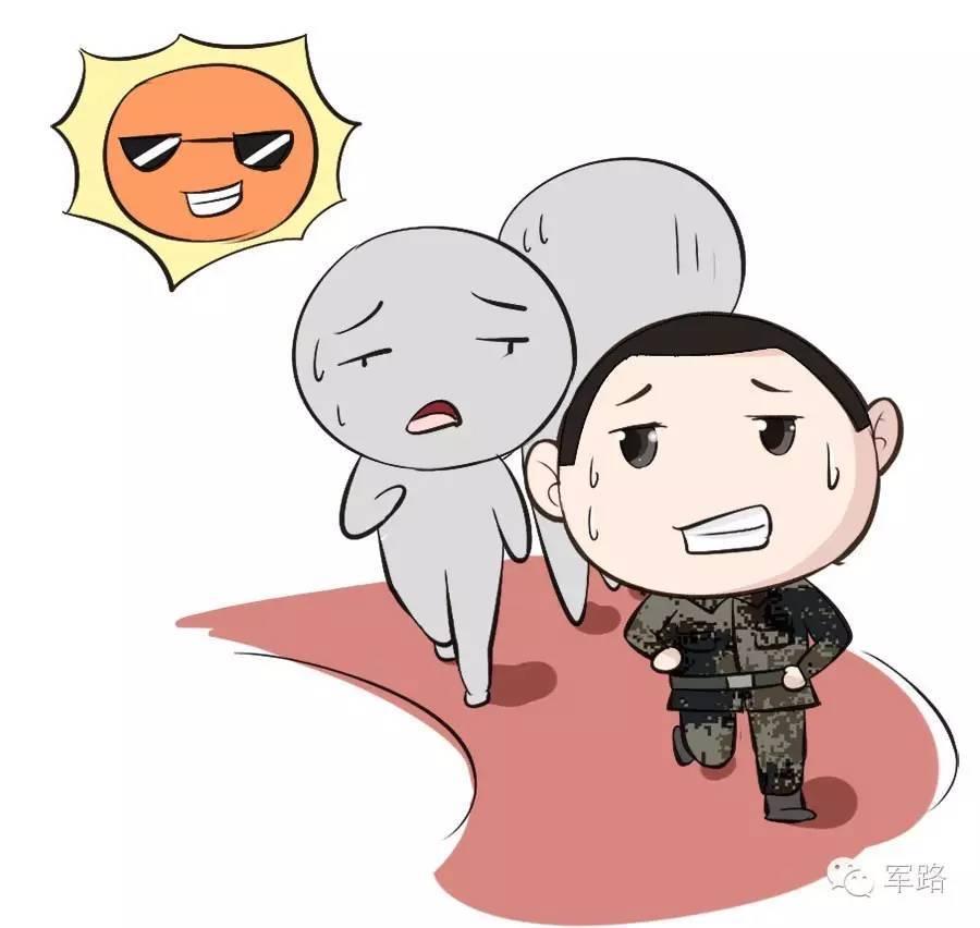 部队卡通图片海军