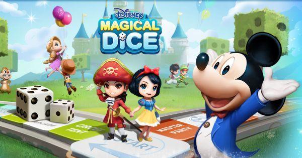 《Game of Dice》迪士尼日版《Magical Dice》事前登录开启