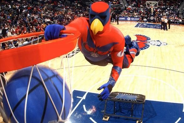 篮球吉祥物手绘图片
