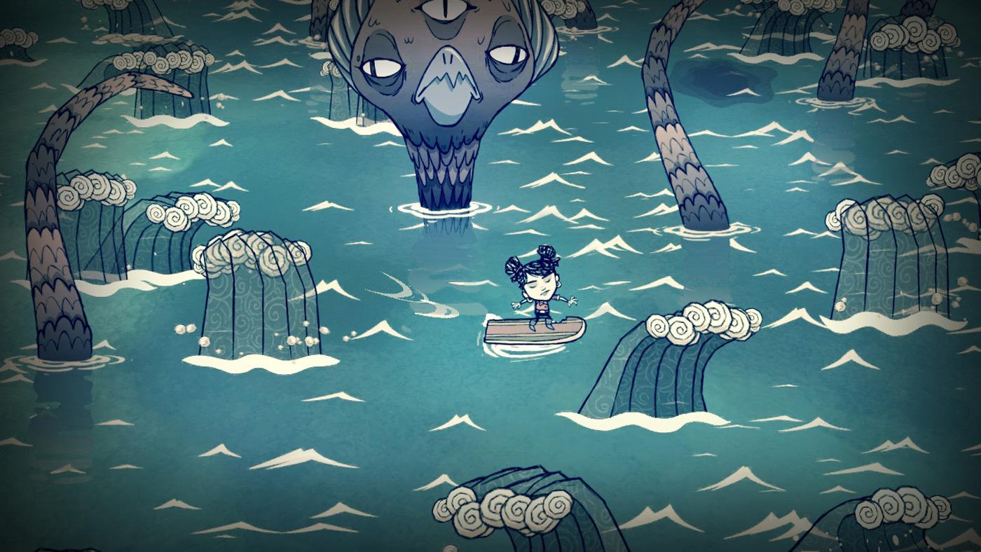 《饥荒:海难》春季登陆PS4