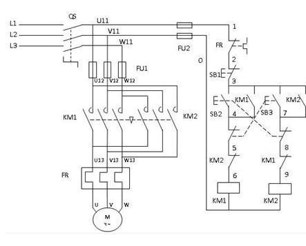 动力电机接线图解